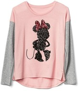 Gap GapKids | Disney Minnie Mouse embellished colorblock tee