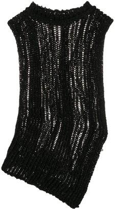 Acne Studios Side-Slit Knitted Vest