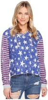 Roxy Twinfinning A Pullover Hoodie Women's Clothing