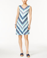 Style&Co. Style & Co Sleeveless Crisscross-Back Dress, Only at Macy's