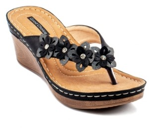 GC Shoes Rachel Wedge Sandal Women's Shoes