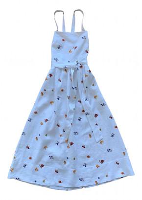 Reformation White Linen Dresses