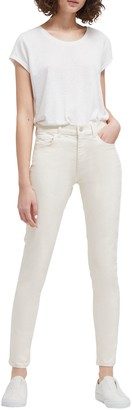 French Connection Rebound Skinny Jeans, Ecru
