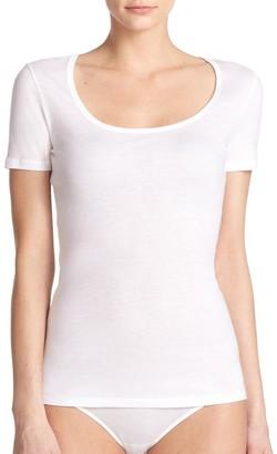 Hanro Ultralight Short-Sleeve Top