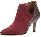 Donald J Pliner Talia Pointed-Toe Ankle Boot, Merlot
