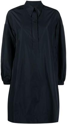 Odeeh Pointed Collar Shirt Dress