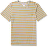 Outerknown - Isidro Striped Hemp And Organic Cotton-blend Jersey T-shirt