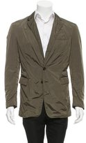 Ralph Lauren Black Label Nylon Two-Button Blazer