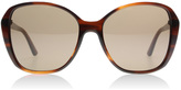 DKNY DY4122 Sunglasses Spotted Brown 366373 57mm