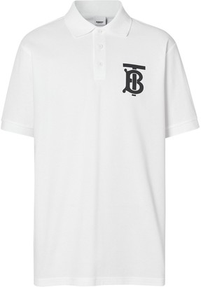 Burberry Monogram Print Polo Shirt