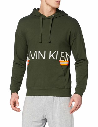 Calvin Klein Men's L/s Hoodie Base Layers