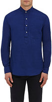 Gitman Brothers MEN'S COTTON PLAIN-WEAVE TUNIC-BLUE SIZE L