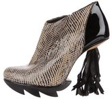 Camilla Skovgaard Patent Leather Ankle Boots