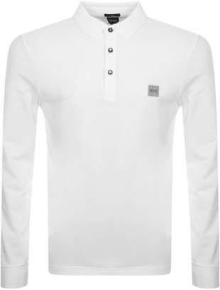 BOSS Passerby Polo T Shirt White