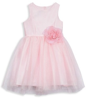 Pippa & Julie Baby's Little Girl's & Girl's Bow Fit & Flare Dress