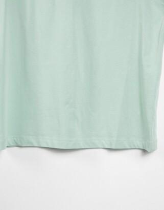 New Look boyfriend t-shirt in light green