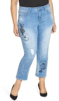 Seven7 High Rise Straight Crop Jeans
