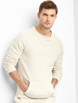 Brushed Terry Crew Sweatshirt