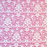 SheetWorld Fitted Pack N Play Sheet - Damask - Made In USA - 29.5 inches x 42 inches (74.9 cm x 106.7 cm)