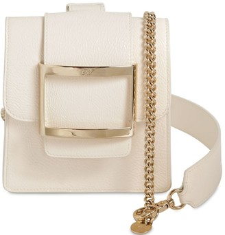 Roger Vivier Semi Patent Leather Belt Bag