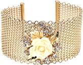 Amrita Singh Women's Lyon Floral Mesh Cuff Bracelet