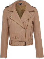 Oxford Ritzy Leather Jacket Taupe X
