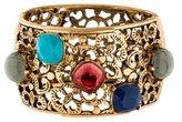 Oscar de la Renta Cabochon Cuff Bracelet