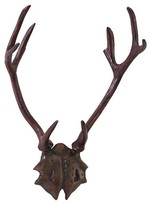 Aurora Antler Decorative Wall Sculpture - Brown/Bronze