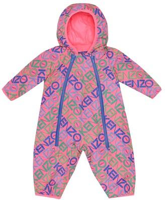 Kenzo Baby printed ski suit