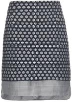 Antonio Berardi Layered Prince of Wales-check mini skirt