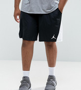 Jordan Nike Plus Flight Shorts In White 861496-014