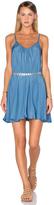 Pink Stitch Short Resort Dress