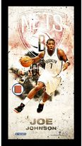 "Steiner Sports Brooklyn Nets Joe Johnson 10"" x 20"" Player Profile Wall Art"