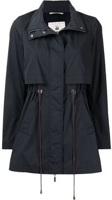 Colombo Layered-Effect Coat