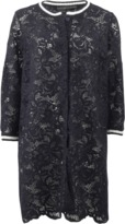 Ermanno Scervino Lace Coat With Trim
