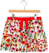 Milly Minis Girls' Floral Mini Skirt
