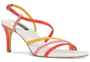 Nine West Game Strappy Sandals Women's Shoes