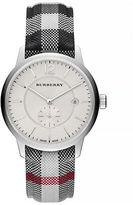 Burberry Classic Round Silvertone Watch