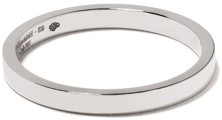 Le Gramme 18kt White Gold 3g Band Ring