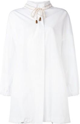 Fabiana Filippi A-line coat
