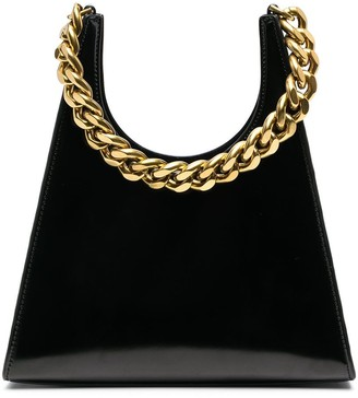 STAUD Rey chain-strap tote bag
