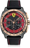 Ferrari Aero Evo Stainless Steel Case and Black Nylon Strap Men's Watch