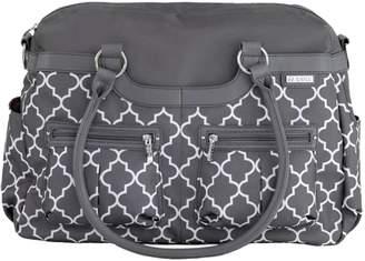 JJ Cole Stone Arbor Satchel Diaper Bag