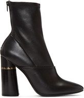 3.1 Phillip Lim Black Leather Kyoto Boots