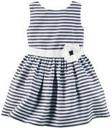 Carter's Sateen Striped Dress