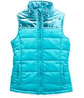 Turquoise Puffer Vest - Girls