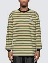 Pleasures Hangman Premium Striped Long Sleeve T-shirt