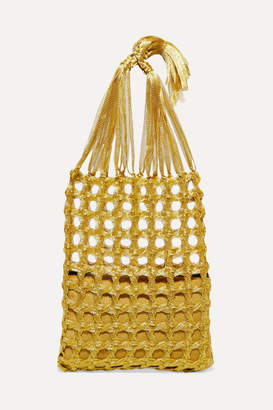 Mehry Mu - Fey Woven Tote - Gold