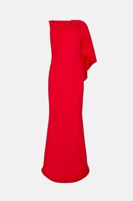 Coast Draped Bow Maxi Dress