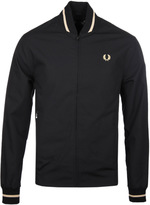 Fred Perry Re-issues Black Tennis Bomber